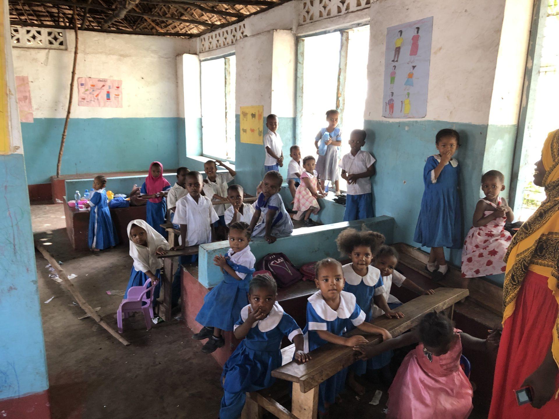 Osnovna škola – Wasini ostrvo, Kenija