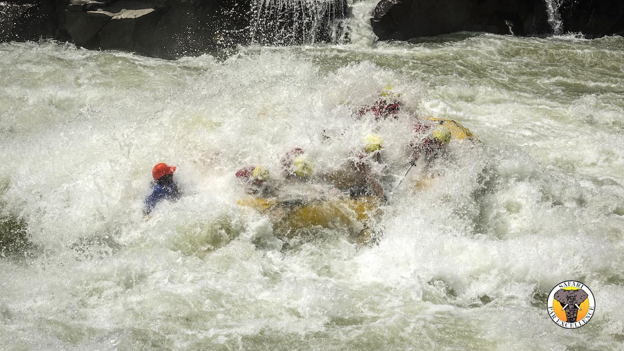Rafting na reci Zambezi